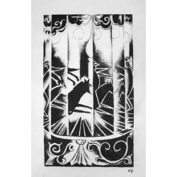 Lot 32, Natalia Goncharova, lithography nr.3