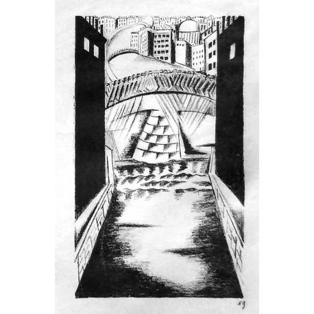 Lot 33, Natalia Goncharova, lithography nr.4