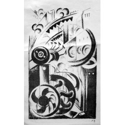 Lot 34, Natalia Goncharova, lithography nr.5