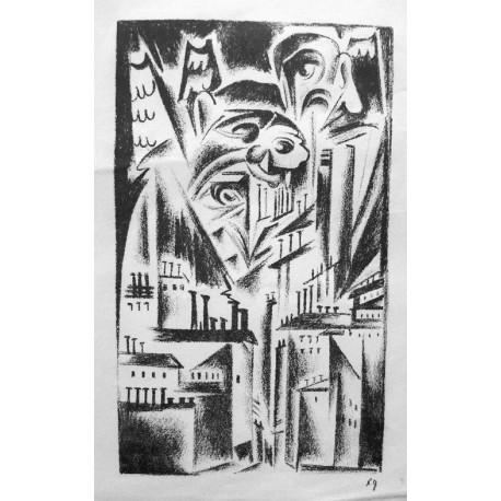 Lot 35, Natalia Goncharova, lithography nr.6