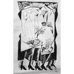 Lot 36, Natalia Goncharova, lithography nr.7