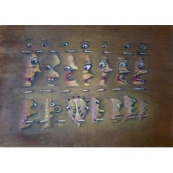 """Lot 13, Lev Povzner,  from  """"Rows"""" series"""