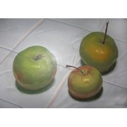 Lot 53, Nikolai Belyanov,  Still Life with Apples