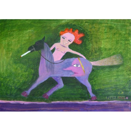 Lev Povzner, Dzeno tames the horse