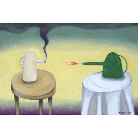 Eugenia Infelicina, The Teapots War